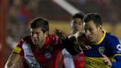 Boca Juniors apenas logró un empate en blanco en su visita a Argentinos...