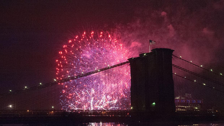 Celebración del 4 de julio en Nueva York.