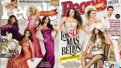 ¿Quiénes han estado en las prestigiosas portadas de los más bellos de Pe...