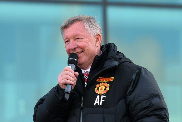 Las palabras de Ferguson fueron de lo más esperado por los fanáticos en...