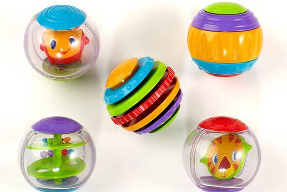 Bolas para agitar y rodar. Estas bolas están diseñadas para bebés a part...