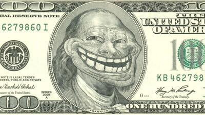 El creador de trollface ha hecho una fortuna con su meme