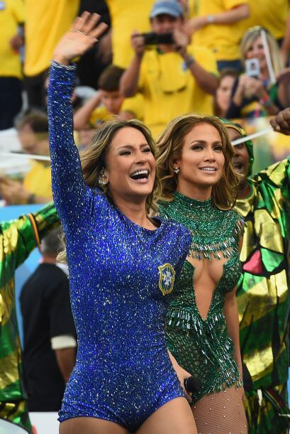 Juntas son una bomba de sensualidad.Todo sobre el Mundial de Brasil 2014.