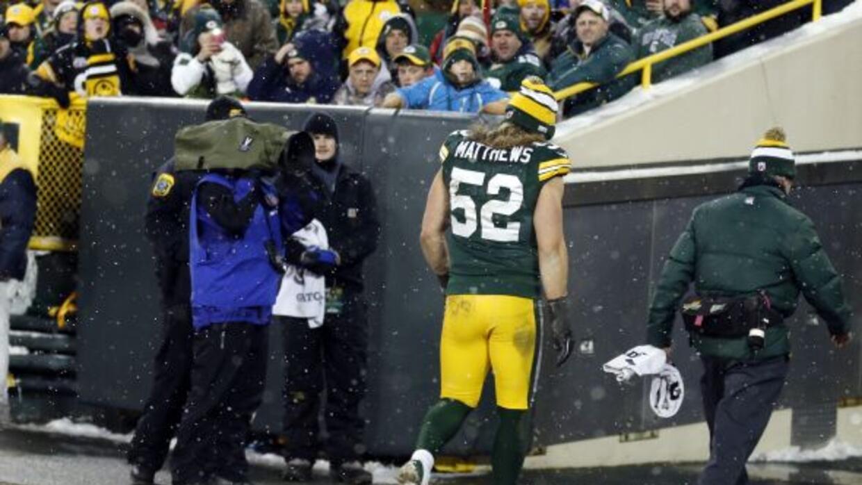Con su nueva lesión, Clay Matthews podría no regresar en lo que queda de...