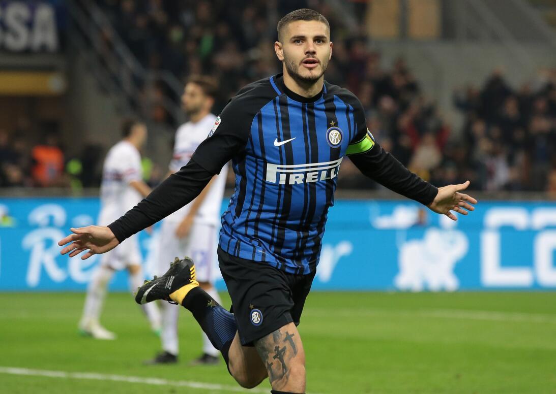 Mauro Icardi (24 años) se está cansando de hacer goles en Italia, logran...