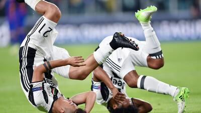 Juventus hizo fiesta contra Barcelona en la Champions League