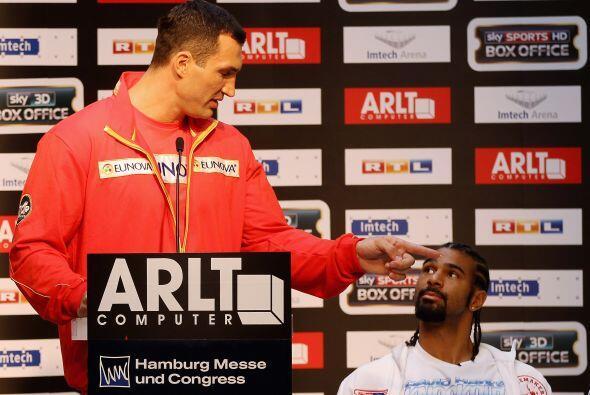 El campeón de los pesados ucraniano, Vladimir Klitschko, prometi&...