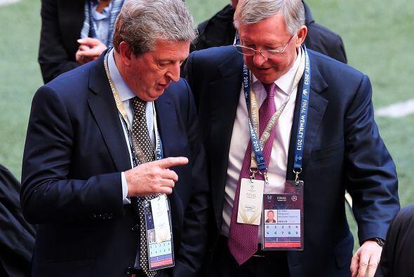 Un invitado de lujo, el 'dueño' de la casa, Sir Alex Ferguson.