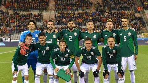 La selección mexicana afina su preparación rumbo a Rusia 2...