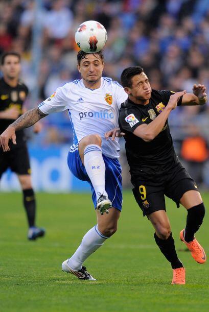 Las cosas seguían parejas pero Zaragoza aprovechó una nueva chance y se...