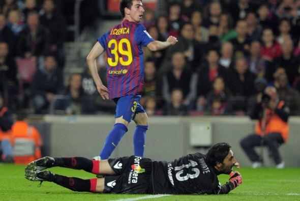 El cuarto del conjunto de Guardiola lo anotó Isaac Cuenca.