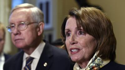 Nancy Pelosi y Harry Reid