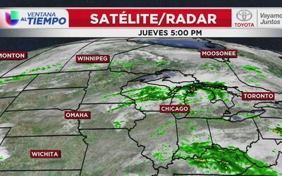 Condiciones atmosféricas anticipan fuertes tormentas en Chicago