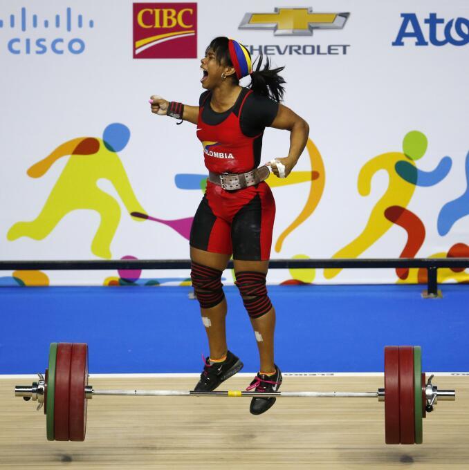 El oro de Solís es el séptimo que gana Colombia en las competencias de h...