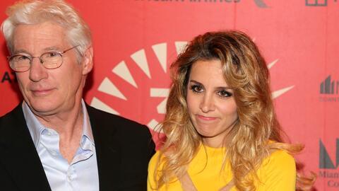 Richard Gere y Alejandra Silva acudieron el viernes 3 de marzo a la aper...