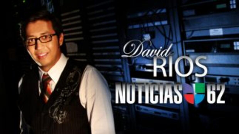 David Ríos es el reportero de música y entretenimiento de Noticias Univi...