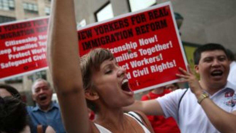La Iglesia Católica estadounidense clama por una reforma migratoria que...