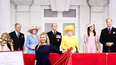 Hay algo mal en esta foto, además de que faltan el príncipe Harry y Meghan Markle