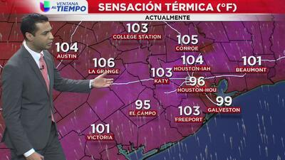 Ventana al Tiempo: Jueves caluroso y con pocas posibilidades de lluvia en Houston