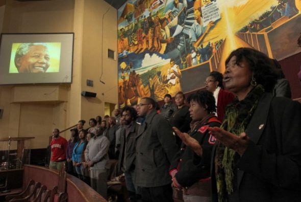 La Primera Iglesia Episcopal Metodista Africana en el Sur de Los Ángeles...