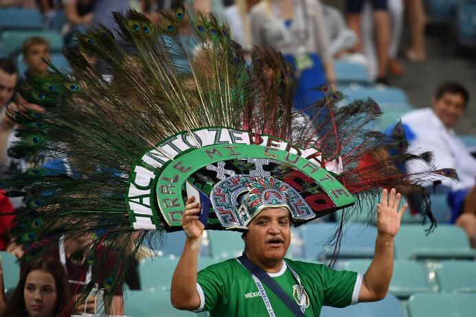 Belleza y sentimiento mexicano se tomaron el Olímpico de Sochi GettyImag...