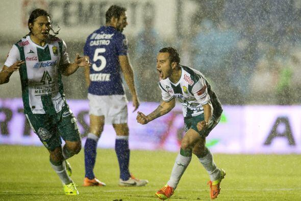 Luis Montes el mejor jugador de León durante el último tramo del torneo...