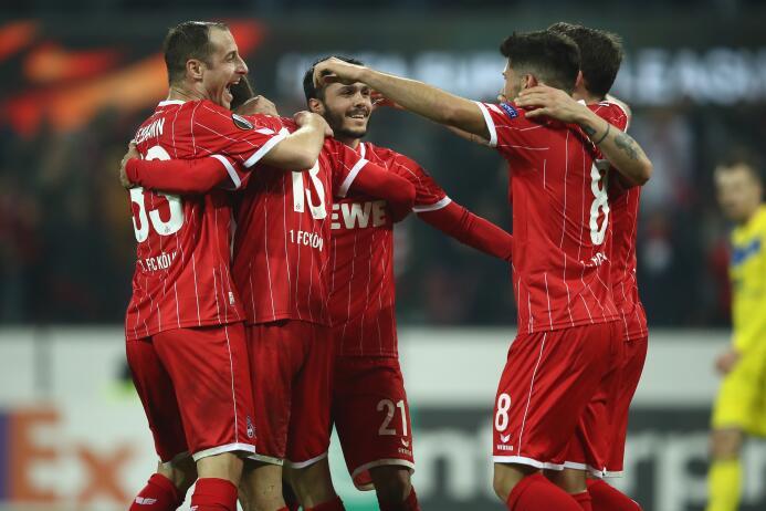Colonia 5-2 BATE Borisov: primer triunfo del equipo alemán en esta edici...