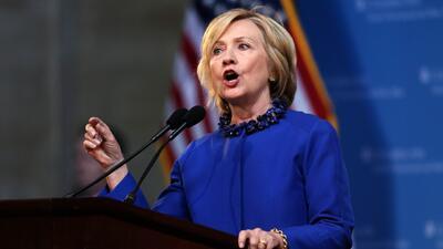 Hillary Clinton podría escoger un hispano como vicepresidente