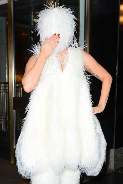 Gaga podrá tener un pésimo gusto para vestir, pero como bu...