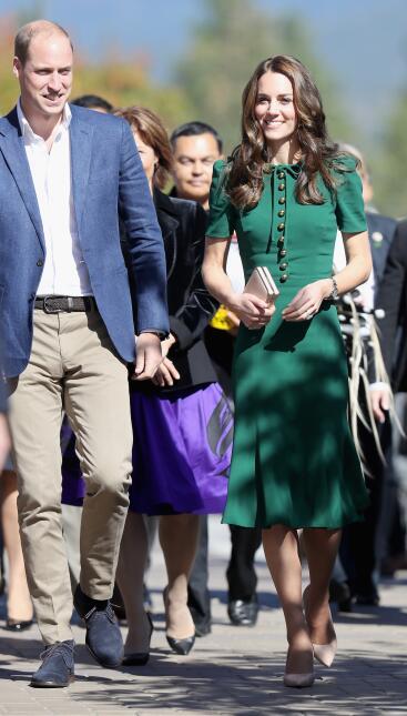 Los 50 mejores vestidos que usó Kate Middleton en 2016 GettyImages-61071...