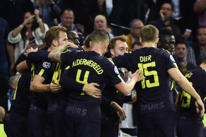 Real Madrid 1-1 Tottenham Hotspur: los líderes del grupo H igualaron por...