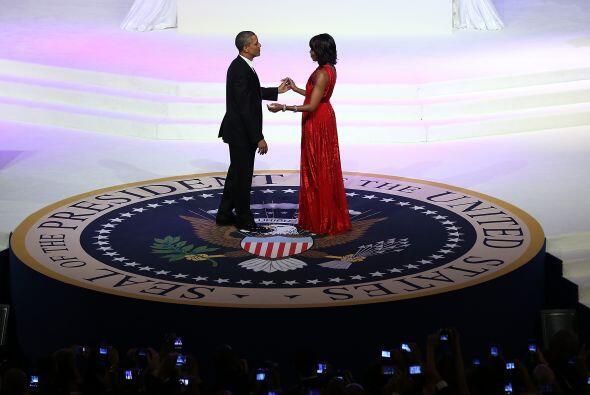 El baile de gala se dio luego de que el presidente Barack Obama ganara l...