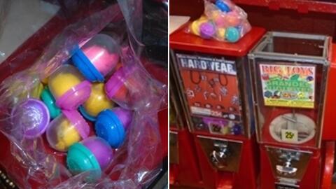 La sustancia ilícita fue hallada dentro de un juguete que se comp...