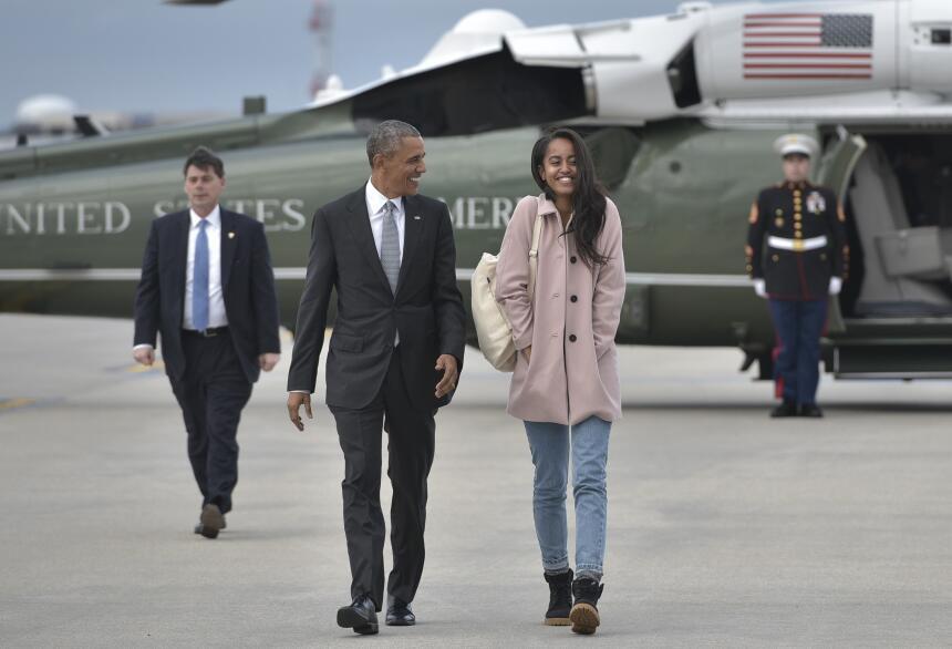 Malia Obama creció dándonos lecciones básicas de moda  GettyImages-51966...