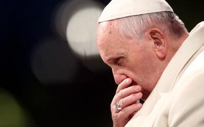 El papa Francisco dijo estar preocupado por la posibilidad de una guerra...