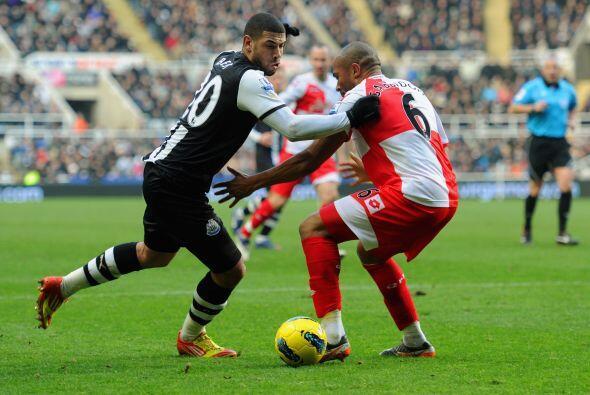 En el otro juego del día, el Newcastle recibió al Queens Park Rangers.