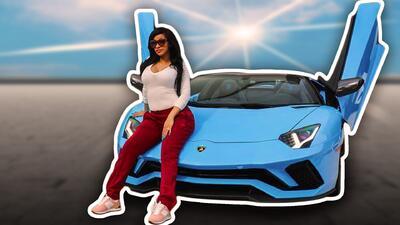 Sin saber conducir Cardi B gasta medio millón de dólares en un Lamborghini convertible