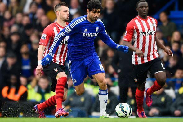 En otro escenario el Chelsea no paso del empate 1-1 ante el Southampton...