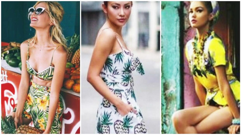 ¡Bienvenidas las palmeras! Conoce la tendencia de moda para este verano