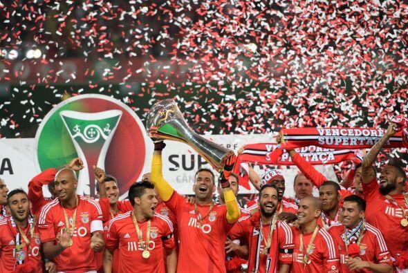 El Benfica se coronó campeón de Portugal en la Primeira Liga al sumar 85...