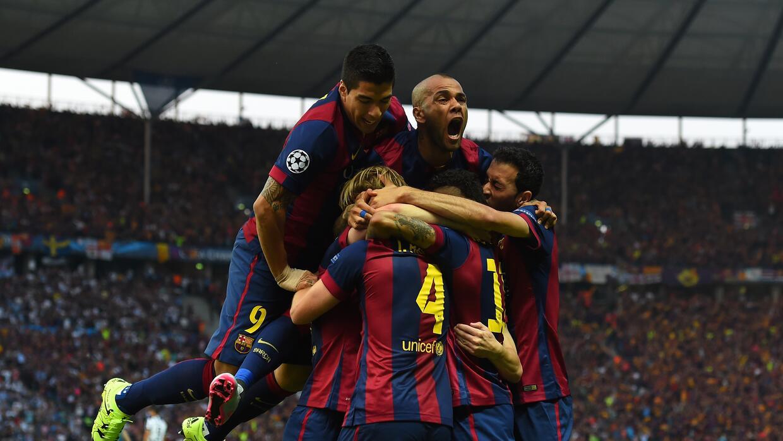 Ivan Rakitic, Luis Suárez y Neymar liquidaron a la Juventus en Berlín.