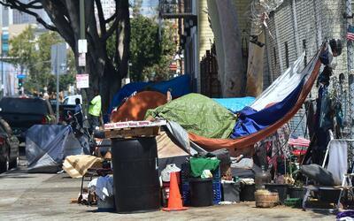 Según un estudio, 567,000 personas en Los Ángeles están en riesgo de que...