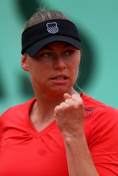 La hermosa rusa Vera Zvonareva, número tres de la clasificación de la WT...