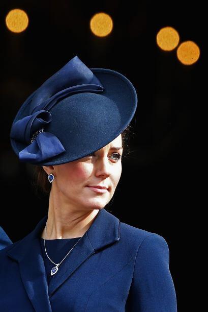Un vistazo al sombrero de Kate.