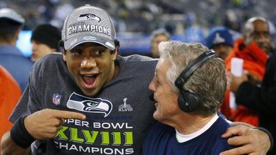 Russell Wilson cree que los Seahawks tienen una ventana para más campeon...