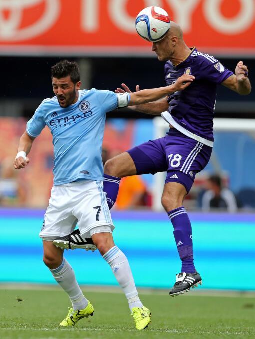 Debut de Andrea Pirlo con New York City FC