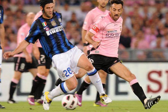 Inter de Milán y Palermo se vieron las caras en la Final de la Coppa Ita...