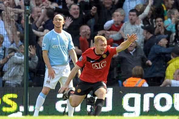 Gol que puede valer mucho. Los tres puntos del Manchester United lo deja...