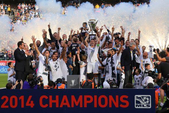 Los Angeles Galaxy lograron su quinto título en la MLS, luego de...