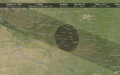 Estos son los mejores lugares para observar el eclipse total de sol que...